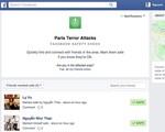 Facebook tung tính năng đánh dấu an toàn sau khủng bố ở Paris