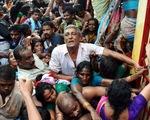 Ấn Độ: Giẫm đạp tại lễ hội tắm sông, ít nhất 27 người thiệt mạng