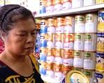 Giá sữa trong nước đi ngược xu thế giảm của thế giới
