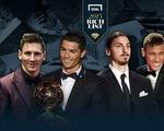 Top 10 cầu thủ giàu nhất thế giới: Cris Ronaldo là số 1