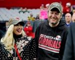 Gwen Stefani ngập tràn hạnh phúc bên Blake Shelton