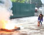 Tập huấn công tác phòng cháy, chữa cháy năm 2014