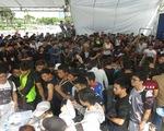 Hàng trăm thí sinh chen nhau đăng ký dự thi Không giới hạn - Sasuke 2016