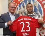 Arturo Vidal chính thức ra mắt Bayern Munich