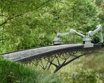 Robot xây cầu bằng công nghệ in 3D tại Hà Lan