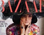 Kendall Jenner đẹp cổ điển trên tạp chí Harper's Bazaar