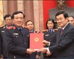 Chủ tịch nước trao quyết định bổ nhiệm kiểm sát viên VKSND tối cao