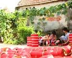 Làng sản xuất đồ chơi Trung thu truyền thống vào mùa