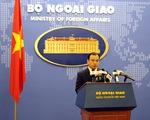 Việt Nam yêu cầu Trung Quốc chấm dứt ngay việc xây dựng, mở rộng đảo ở Trường Sa