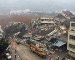 Lở đất tại Trung Quốc: 59 người mất tích, 33 tòa nhà bị vùi lấp