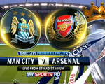 Lịch tường thuật vòng 22 Ngoại hạng Anh: Đại chiến Man City-Arsenal