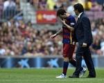 Rời sân sớm kỷ lục, Messi ngay lập tức nhập viện