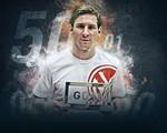 Vượt qua Ronaldo, Messi lần thứ 4 giành Goal 50