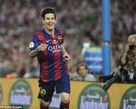 Ngoài Quả bóng vàng FIFA, Messi còn tranh giải Bàn thắng của năm