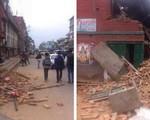 Động đất 7,9 độ richter tại Nepal