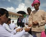 Tổng tuyển cử Myanmar vẫn diễn ra theo kế hoạch vào ngày 8/11
