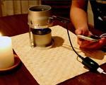 Candle Charger - Sạc điện thoại từ… nến
