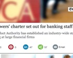 Ngân hàng tại Anh nỗ lực kiểm soát hành vi gian lận