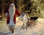 Ông già Noel gửi thông điệp tới các em nhỏ có hoàn cảnh khó khăn