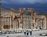 IS chiếm giữ thành phố cổ Palmyra, Syria