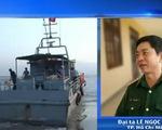 Tàu chìm ở TP.HCM: Đã cứu được thuyền viên mất tích đầu tiên
