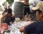 """""""Đột nhập"""" kho xưởng chuyên thu mua rác thải y tế"""