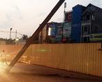 Rơi thanh cừ tại Dự án đường sắt đô thị Hà Nội: Lỗi thuộc về nhà thầu