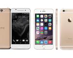 HTC One A9 cạnh tranh cơn sốt vàng hồng của iPhone 6S?