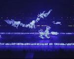 Màn laser tại Lễ khai mạc SEA Games 28 đỉnh hơn Olympic 2008