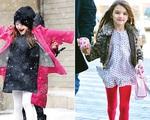 Phong cách mùa Đông đáng yêu của con gái Tom Cruise