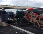 Tai nạn liên hoàn trên cao tốc Trung Lương, 1 người tử vong