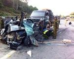 9 người chết trong vụ tai nạn giao thông nghiêm trọng tại Thanh Hóa
