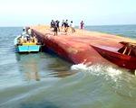 Vụ chìm tàu trên sông Soài Rạp: Đã tiếp cận được vị trí tàu Hoàng Phúc 18 bị chìm