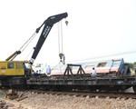Tai nạn đường sắt ở Quảng Trị: Huy động xe cẩu 100 tấn lưu thông đường