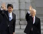 Chuyến thăm Nhật Bản của Tổng Bí thư trên báo chí quốc tế