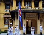Lễ Thượng cờ ASEAN chào mừng Cộng đồng ASEAN chính thức hình thành