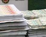 Peru thu giữ 31 triệu USD tiền giả