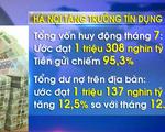 Hà Nội tăng trưởng tín dụng 12,5%