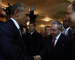 Lãnh đạo Mỹ - Cuba lần đầu tiên hội đàm sau nhiều thập kỷ