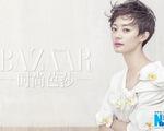 """Tôn Lệ cá tính với tóc tém trên tạp chí Harper""""s Bazaar"""