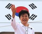 Tỷ lệ ủng hộ Tổng thống Hàn Quốc Park Geun-hye tăng cao kỷ lục
