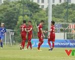 Đè bẹp U16 Guam 18-0, U16 Việt Nam vươn lên dẫn đầu bảng J