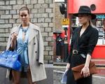 Sắc màu thanh lịch của thời trang đường phố London