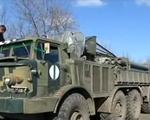 Ukraine rút đoàn xe chở vũ khí hạng nặng khỏi miền Đông