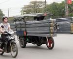 Khó xử lý xe ba bánh giả xe thương binh