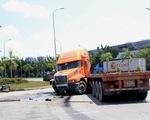 Xe container gây tai nạn liên hoàn, 3 người bị thương