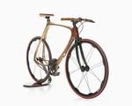 Xe đạp làm từ sợi carbon và gỗ