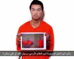 Xuất hiện video thông báo một con tin Nhật Bản đã bị hành quyết