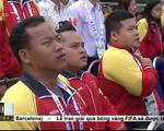 Lễ thượng cờ đoàn thể thao khuyết tật Việt Nam tham dự ASEAN Paragames 8