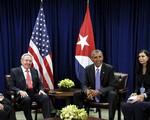 Tổng thống Mỹ hội đàm với Chủ tịch Cuba